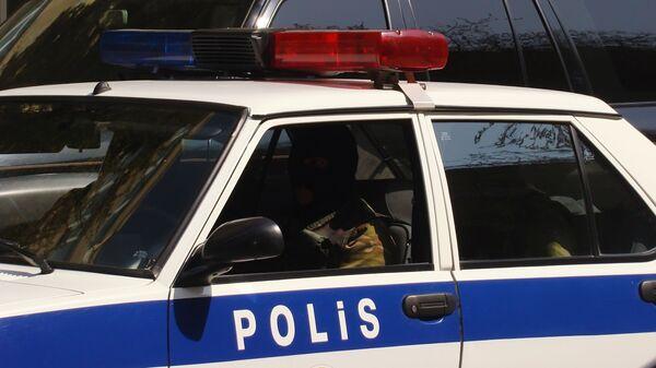Сотрудники правоохранительных органов в Баку