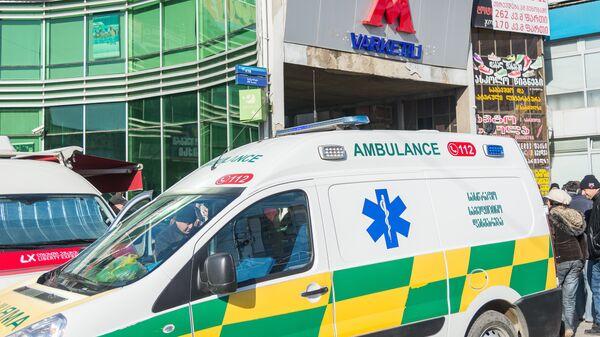 Автомобиль скорой помощи в Тбилиси