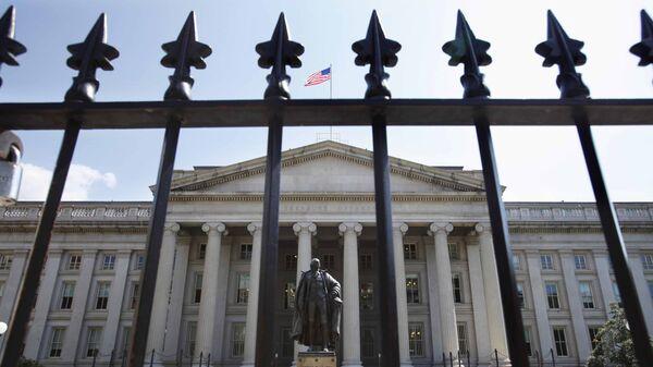 Здание Министерства финансов США в Вашингтоне