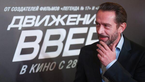 Актер Владимир Машков на премьере фильма Движение вверх. Архивное фото