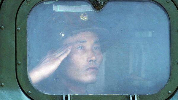 Военнослужащий КНДР