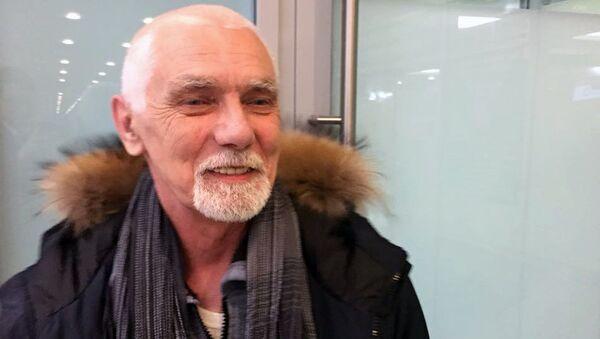 Гражданин Белоруссии Вячеслав Качура, освобожденный из Ливийского плена