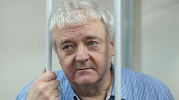 Гражданин Норвегии Фруде Берг в Лефортовском суде Москвы. Архивное фото