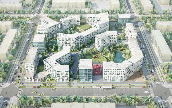 Концепция среднеэтажной застройки от Boustany, Suphasidh, Desfonds + A2OM