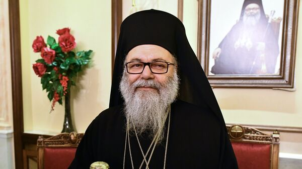 Патриарх Антиохийский и всего Востока Иоанн Х
