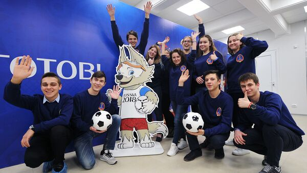 17 тысяч волонтеров будут работать на ЧМ-2018 по футболу