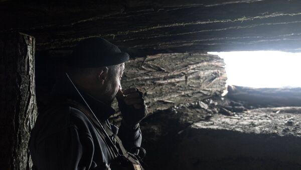 Военнослужащий ДНР. Архив