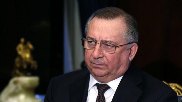 Председатель правления и президент ПАО Транснефть Николай Токарев