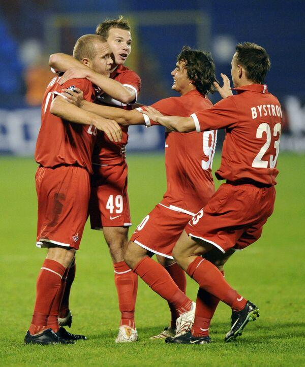 Матч Кубка УЕФА Баник - Спартак