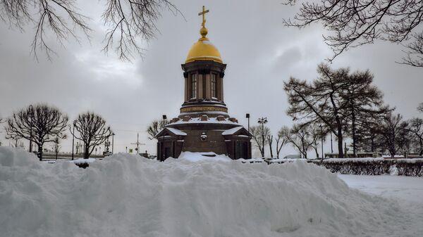 Часовня Троицы Живоначальной в Санкт-Петербурге