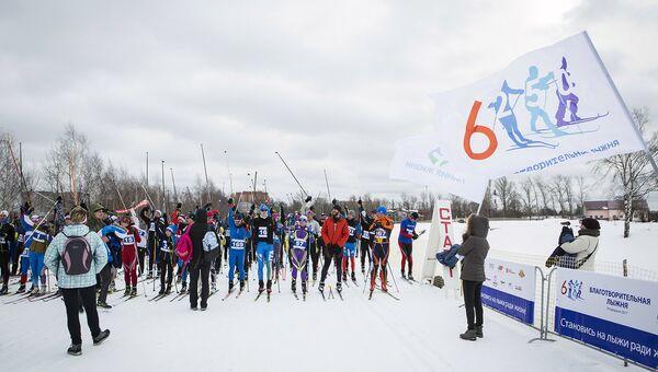 Благотворительная лыжня пройдет в Москве в четвертый раз