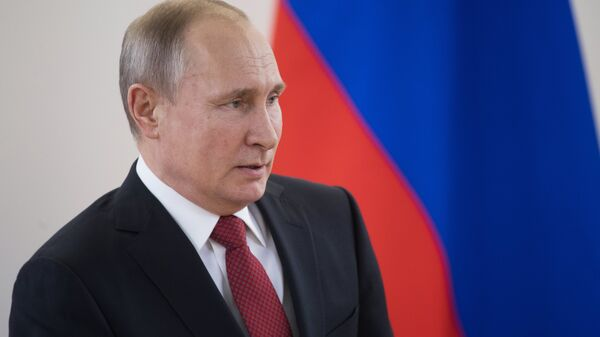 Президент РФ Владимир Путин проводит в Новосибирске заседание Совета при президенте РФ по науке и образованию. 8 февраля 2018