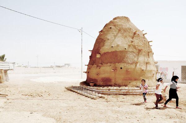 Школа в иорданской деревне Заатари