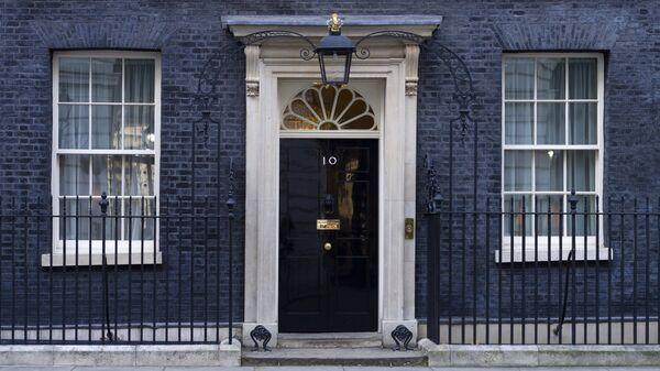 10 Даунинг-стрит официальная резиденция и офис премьер-министра Великобритании в Лондоне. Архивное фото