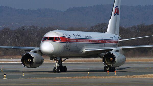 Самолет Ту-204-300 северокорейской авиакомпании Air Koryo. Архивное фото