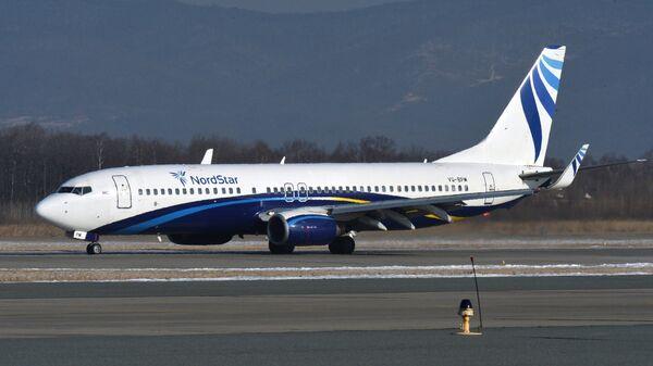 Самолет Boeing 737-800 авиакомпании NordStar