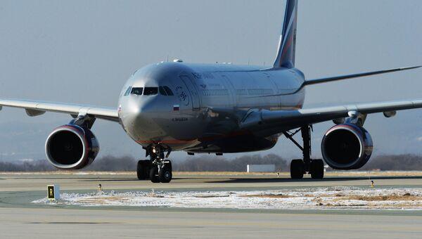 Самолет Airbus A330 авиакомпании Аэрофлот. архивное фото