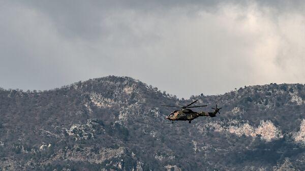 Вертолет турецкой армии