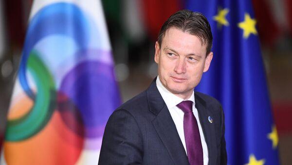 Министр иностранных дел Нидерландов Халбе Зейлстра