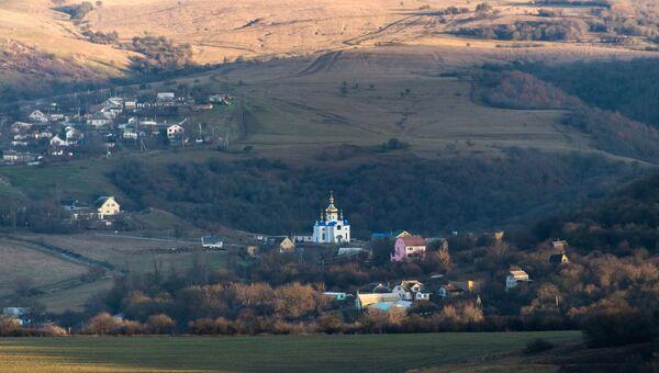 Село Партизанское в Крыму
