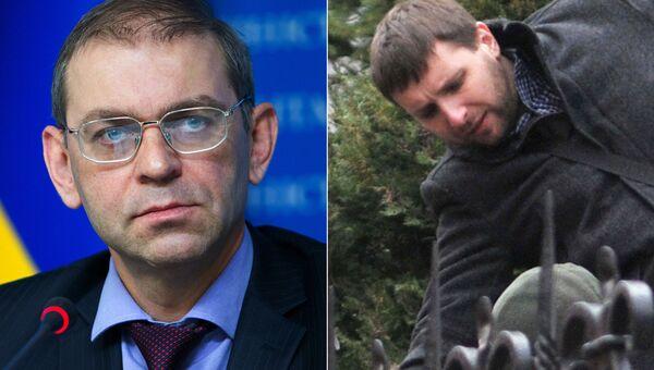 Сергей Пашинский и Владимир Парасюк