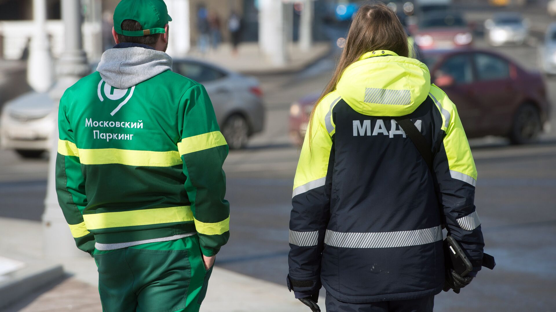 В Москве напали на контролера паркинга