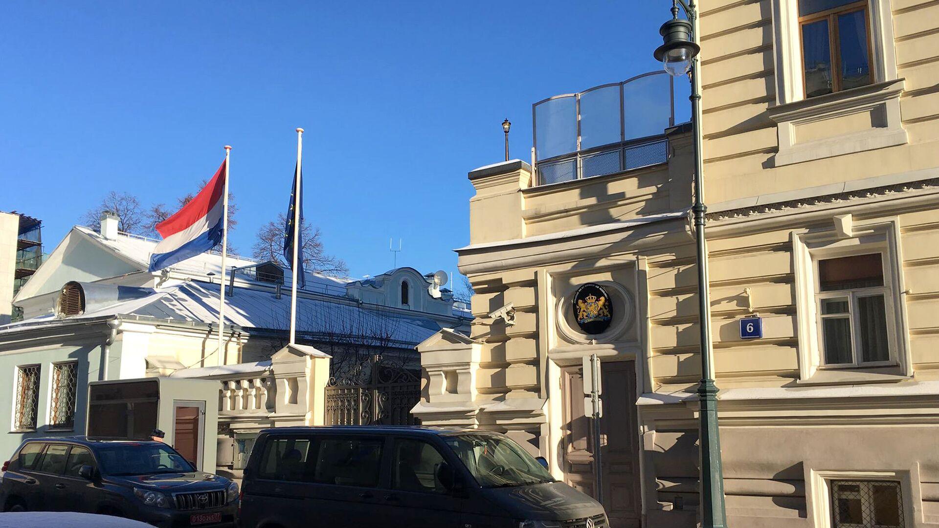 Здание посольства Нидерландов в Москве - РИА Новости, 1920, 24.02.2021