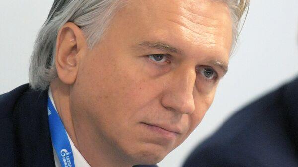Председатель правления, генеральный директор ПАО Газпром нефть Александр Дюков на конференции: Интеллектуальная энергетика: вызовы и стратегия на Российском инвестиционном форуме в Сочи