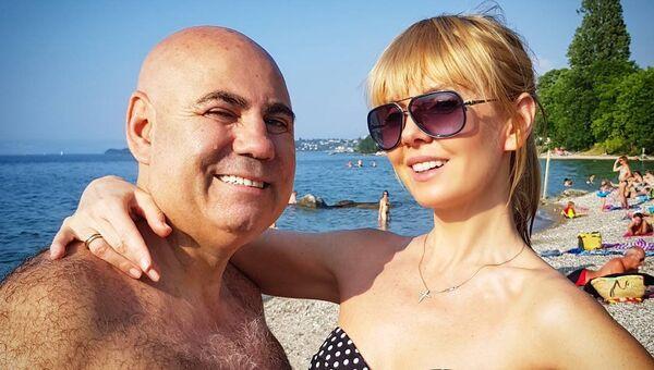 Певица Валерия с супругом продюсером Иосифом Пригожиным на отдыхе