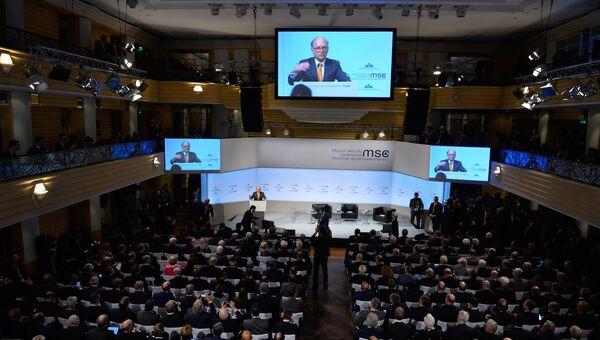 Выступление председателя Мюнхенской конференции по безопасности Вольфганга Ишингера. 16 февраля 2018