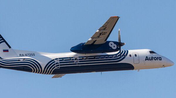 Воздушное судно авиакомпании Аврора DHC-8-200
