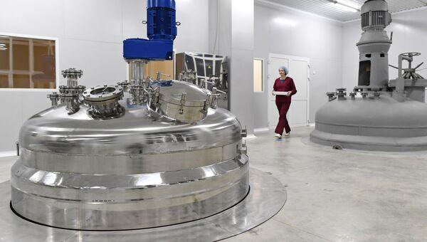 Открытие завода по производству антибиотиков на АО Биохимик