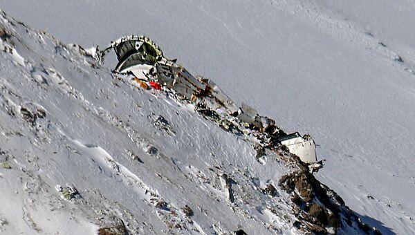 Останки самолета ATR-72, разбившегося в Иране над горной цепью Заргос. 20 февраля 2018