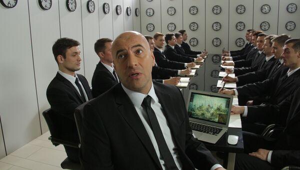 Кадр из фильма О чём говорят мужчины. Продолжение
