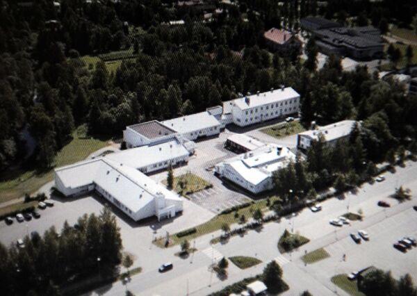 Училище в финском городе Каухайоки