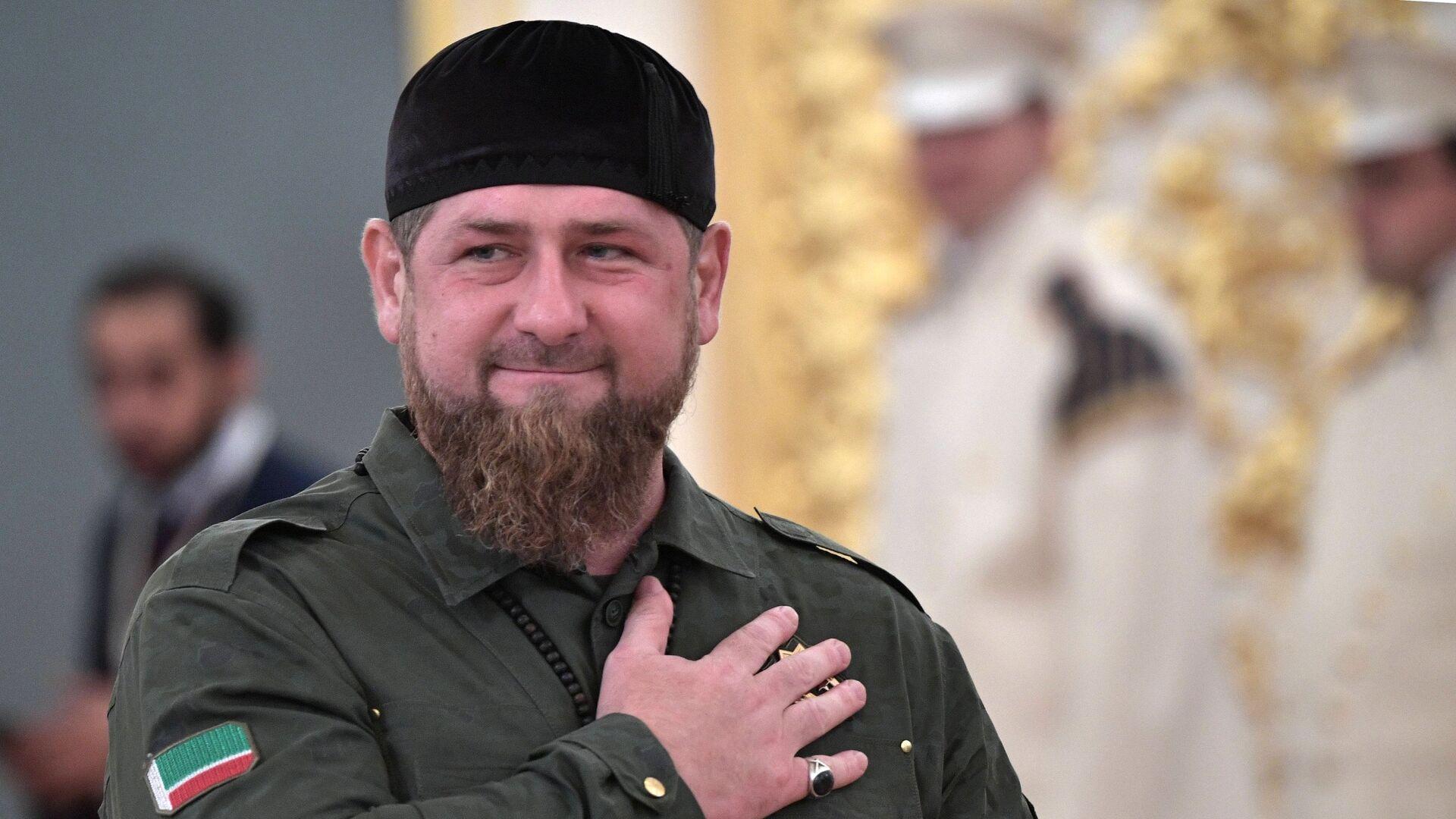 Кадыров ушел в отпуск - РИА Новости, 13.04.2021