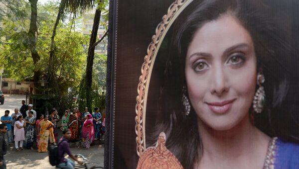 Индийская актриса Шридеви. Архивное фото