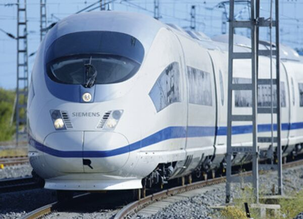Скоростной поезд Siemens