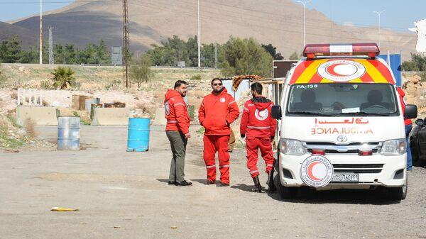 Врачи скорой помощи в Сирии