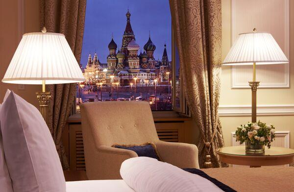 «Панорамный» люкс в отеле «Балчуг Кемпински Москва»