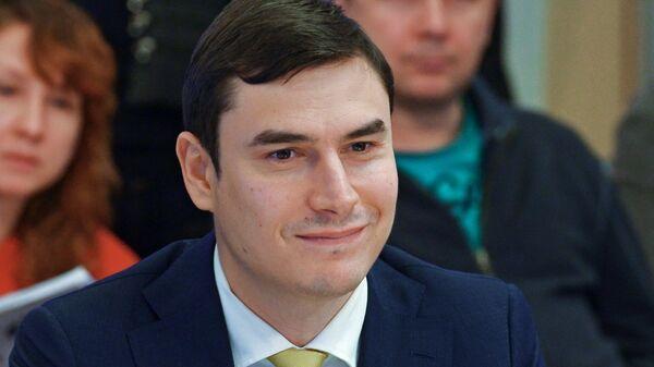 Депутат Госдумы, писатель Сергей Шаргунов
