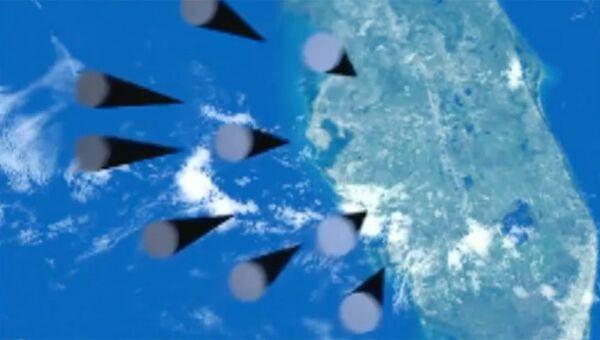 Демонстрация принципа действия ракетного комплекса стратегического назначения Сармат. Архивное фото