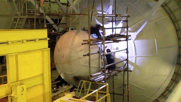 Стоп-кадр из видео Минобороны РФ об океанской многоцелевой системе с беспилотными подводными аппаратами