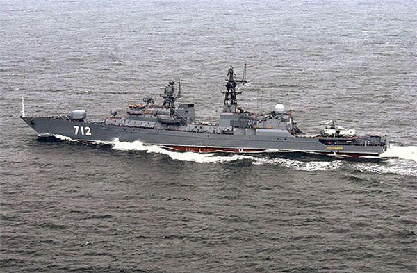 Сторожевой корабль Балтийского флота Неустрашимый