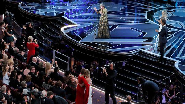 Фрэнсис МакДорманд на церемонии вручения премии Оскар