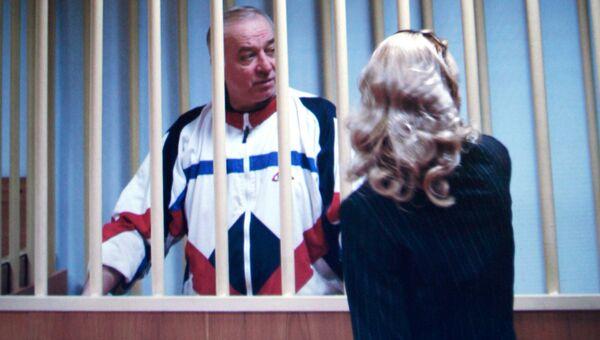 Сергей Скрипаль в зале суда. Архивное фото