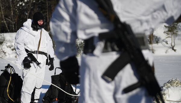 Бойцы спецназа Росгвардии. Архивное фото