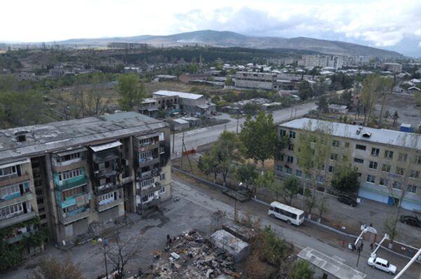 Взрыв прогремел на окраине Цхинвали