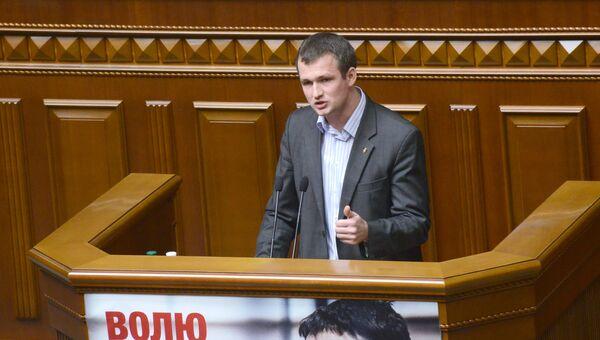 Депутат Верховной рады Украины Юрий Левченко. Архивное фото