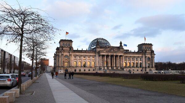 Германский бундестаг в Берлине